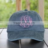 Personalized Sorority Monogrammed Hats, Monogrammed Baseball Cap