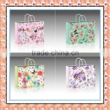 2015 beautiful flowers shopping&gift paper bag chinese wholesaler
