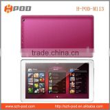 Cheapest quad Core CPU 1.3GHZ tablet pc/10inch tablet pc with GPS,FM,Bluetooth,big battery