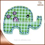 green elephant wooden craft 40x25mm for children handcraft