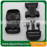 Wholesale Popular Plastic Buckle for backpacks, Plastic Buckle for webbing
