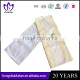 China supplier wholesale home textile cotton fabric plain dyed waffle kitchen towel embroidery tea towel