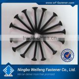 Ningbo WeiFeng high quality fastener anchor, square bugle head black zinc yellow zinc gypsum drywall sc, washer, nut ,bolt screw