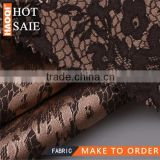women new fashion clothes 100% jacquard polyester fabric for boutique ladies dress