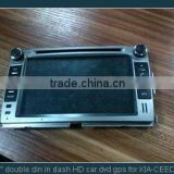 7 inch HD TFT KIA FORTE special Car DVD GPS with IPOD, Bluetooth, GPS, Radio, ATV, DVB-T, ATSC, STERING WHEEL CONTROL