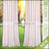 2016 Newest design Small MOQ Elegant rolling window curtain