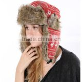 Onemore factory Custom fold up knitted hat and Wholesale Beanies knitting cowboy hat