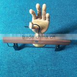 Wooden trouser hanger popular swivel hook wooden trouser hanger clips