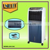 12 volt air conditioner solar powered evaporative air cooler rechargeable air cooler with LED lights