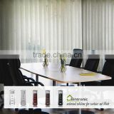 Bintronic Taiwan Curtain Rail Track Electric Motorized Vertical Blinds With White Drapery Track