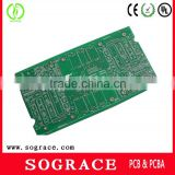 Shenzhen latest double sided green solder mask 94v0 rohs washing machine circuit board pcb