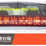 advertising led taxi display panel,led car moving message screen sign board,led taxi display sign for car rear window