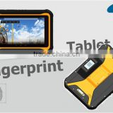 7 inch rugged android 3G three anti-industrial-grade Fingerprint Sensor RFID handheld tablet PC