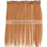 yaki straight hair extension blond color indian human hair