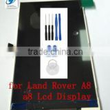100 Original 800*480 Inside Replacement Lcd Display Without Touch Screen for Land Rover A8 a8+ 4.0inch Smart Phone Free Shipping