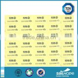 Special promotional thermal adhesive sticker label