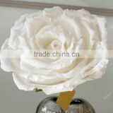 Large white Paper Rose, Large Paper Flower, Giant white paper Flower, funeral decoration paper flower