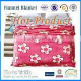 Hot Selling Custom Printed Flannel Blanket/Adult Muslin Blanket