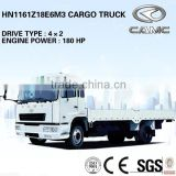 CAMC 4x2 cargo trucks (small Cargo Trucks Engine Power: 132KW, Payload: 8T) of china mini cargo trucks
