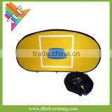 Outdoor tension fabric Pop Up A Frame Banner display