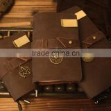 L402 China alibaba real leather spiral conference notebook,real leather portfolios binders,real leather notebook