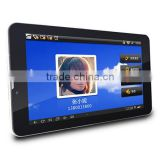 7 inch 3G full function tablet PC, HD/IPS screen, dual camera, 3G phone call+GPS+Bluetooth, Phablet PC