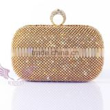 Fashion purses clutch evening bag wedding clutch bag chain rhinestone clutch ring clutch purse
