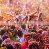 Lots of fun & Easy to clean safe holi powder Pure Natural Holy color pigments Corn Starch Holi powder for big even