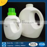 1.2L&3.4L HDPE Bottle Customized Color Beauty Container for Laundry, Liquid Detergent, Dish Washing Agent