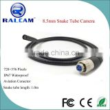 2016 waterproof 1m length flexible pipe 8.5mm camera endoscope insertion tube