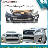 High quality Black Bison LX570 Wd design body kit conversion kit for Toyota Lexus 570 08~