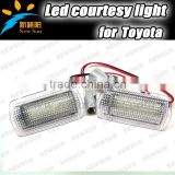 Error Free LED Footwell Door step Courtesy Lights for Lexus for IS250 for Alphard for Vellfire White LED Courtesy Door Light