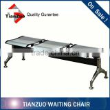 Chrome Wholesale Stadium Chair Waiting Room Bench Seating