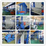 Steel Coil or galvanized steel plate or Zinc-Al plate and cold rolled plate Coating painting embossing production Line
