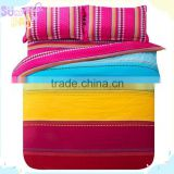 Hot selling 100% cotton fabric for baby bedding set grid bed sheets single wide width fabrics fluorescent bed quilt covers
