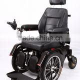 Steel lying power electric standing up wheelchair