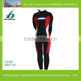 Customzied spearfishing wetsuit in neoprene camo smooth skin