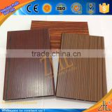 Hot! wooden grain aluminum ceiling tiles, 6063 alloy aluminum tile trim new OEM wood pattern aluminum strip ceiling