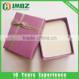 Deluxe custom design jewelry set paper cardboard box ring, earring, bracelet, necklace, brooch packaging box