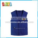 High quality anti-wrinkle cotton gym vest for men