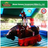 Playground games of amusement rides mechanical rodeo bull price for sale