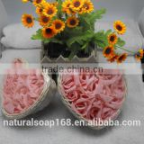 Wholesale Natural Toilet Hotel Bath Flower Paper Beauty Soap