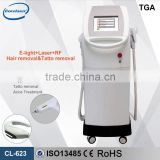 10inch Color Screen 4 in 1 E-light IPL RF Multifunction Skin Care and Laser Beauty Machine