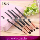 Pro 5Pcs Cosmetics Makeup Brush Rose golden Eye Shadow Applicator Custom Logo Makeup Brush Set