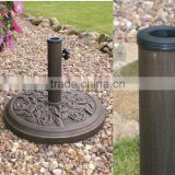 Outdoor Round Resin Parasol Base