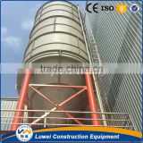 cement clinker grinding plant with raw material silo