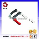 OEM cast iron casting steel thread rod slide bar woodworking continuing purlin clamping apparatus F Clamps