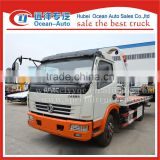 Dongfeng 3Ton emergency truck new road wrecker tow truck for sale
