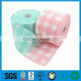 Wholesale Multi-purpose kitchen cleaning wipes made of kinds of viscose and polyester fabric nonwoven clean cloth