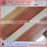 Co-extrusion WPC Profile for window and doors, flooring, wall cladding,ceiling making machine
